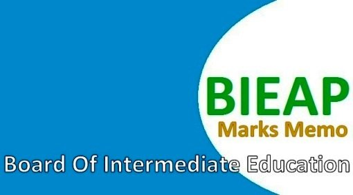 AP Inter Marks Memos Download Online at bieap gov in