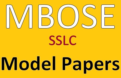 MBOSE 10th Model Papers 2019