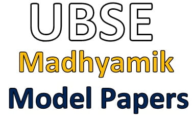 UK Board 10th Model Papers 2020