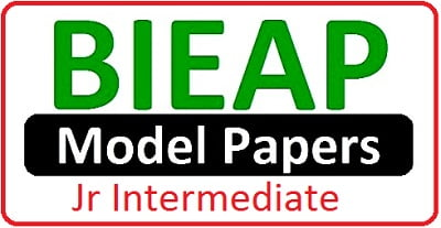 AP Jr Inter Model Papers 2019