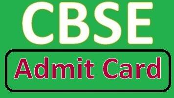CBSE 10th Admit Card 2019