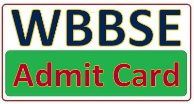 WB 10th Admit Card 2019