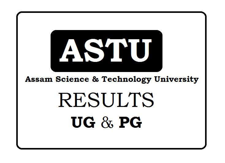 Assam Science & Technology University Result