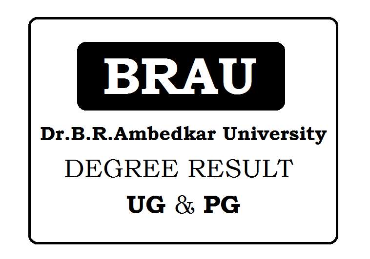 Dr. B. R. Ambedkar University Degree Results