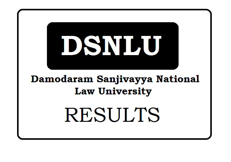 Damodaram Sanjivayya National Law University Results 2020