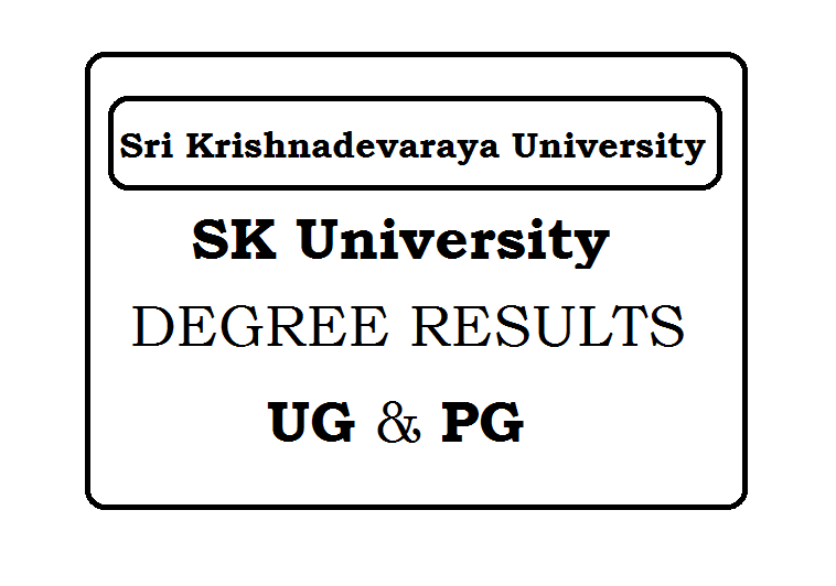 Sri Krishnadevaraya University Results