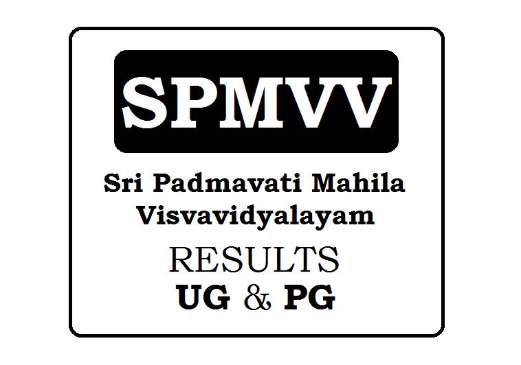 SPMVV Degree Results 2019