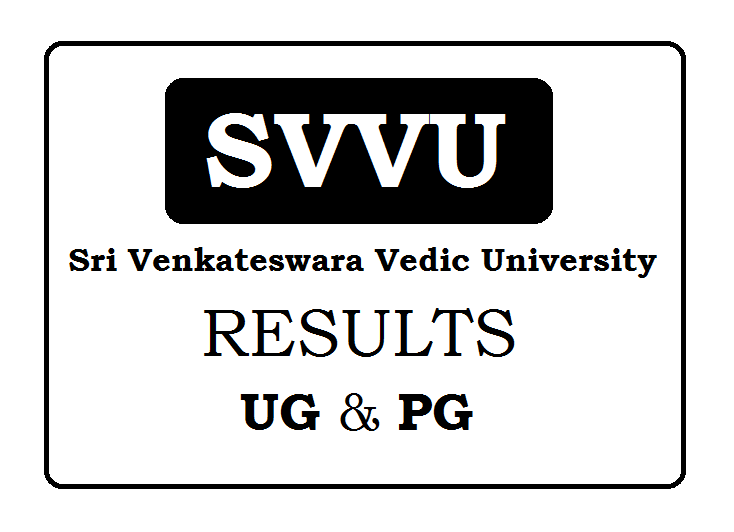 Sri Venkateswara Vedic University Results