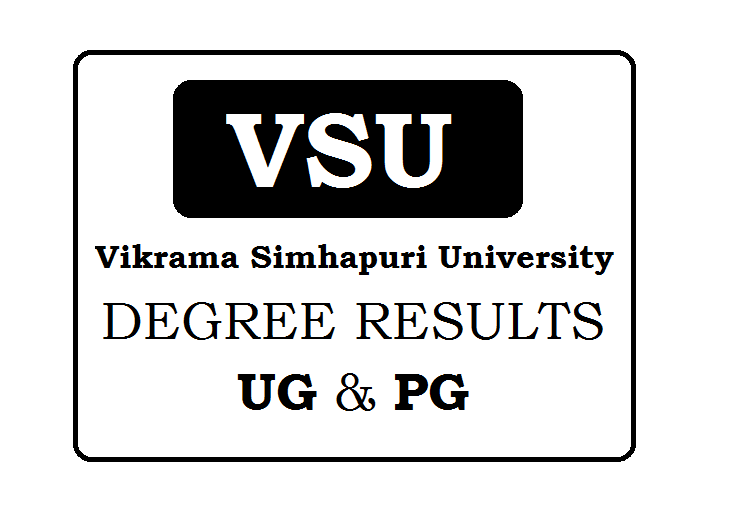 Vikrama Simhapuri University Degree Results