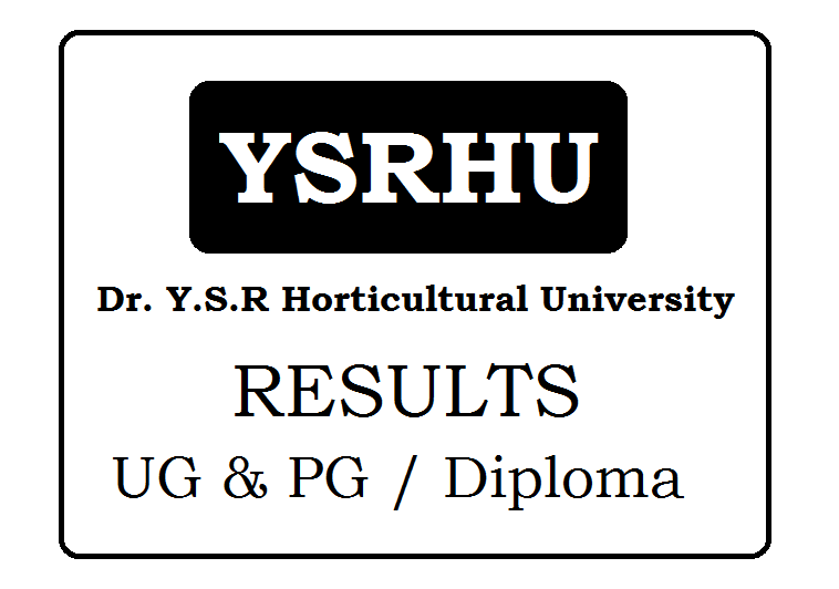 Dr. Y.S.R Horticultural University Results