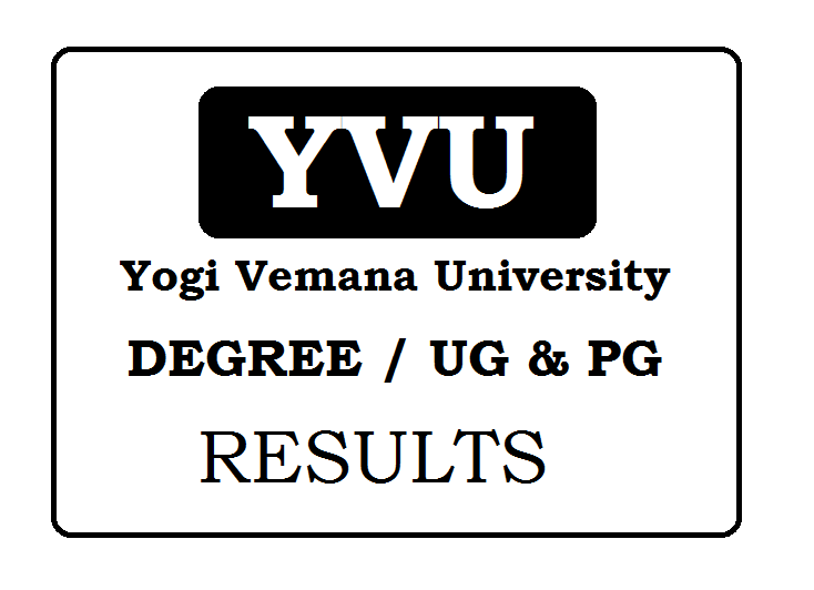 YVU Degree Results 2019