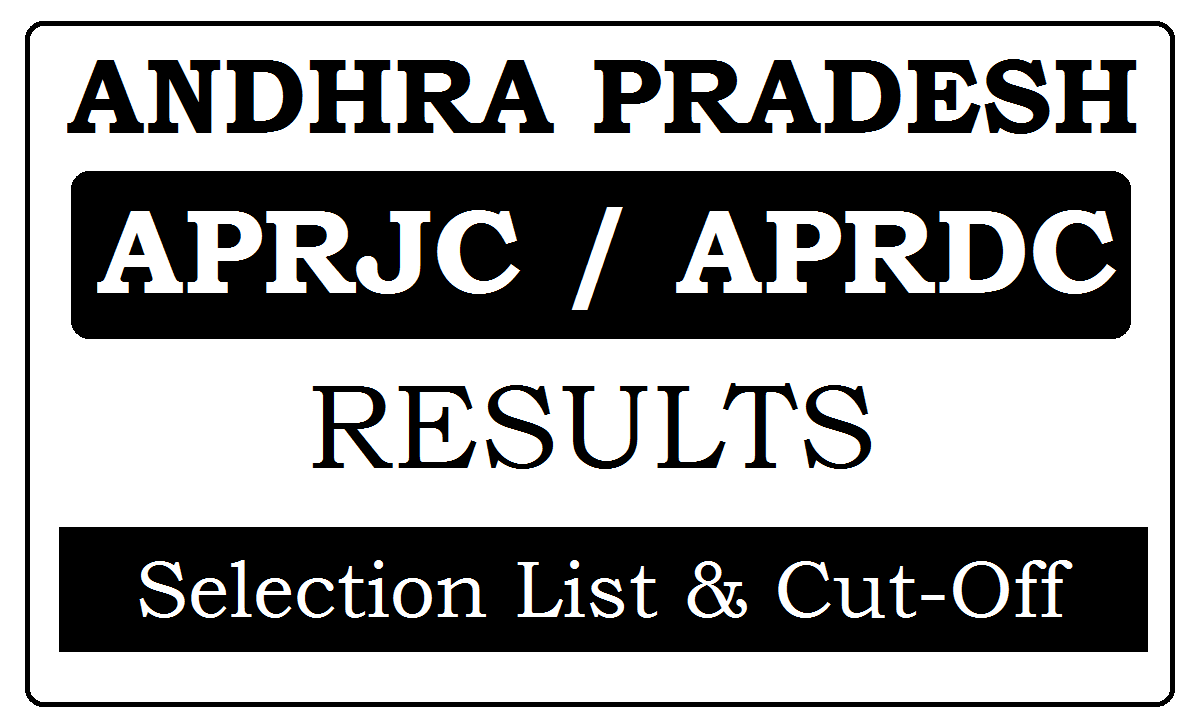 APRJC / APRDC Results 2021