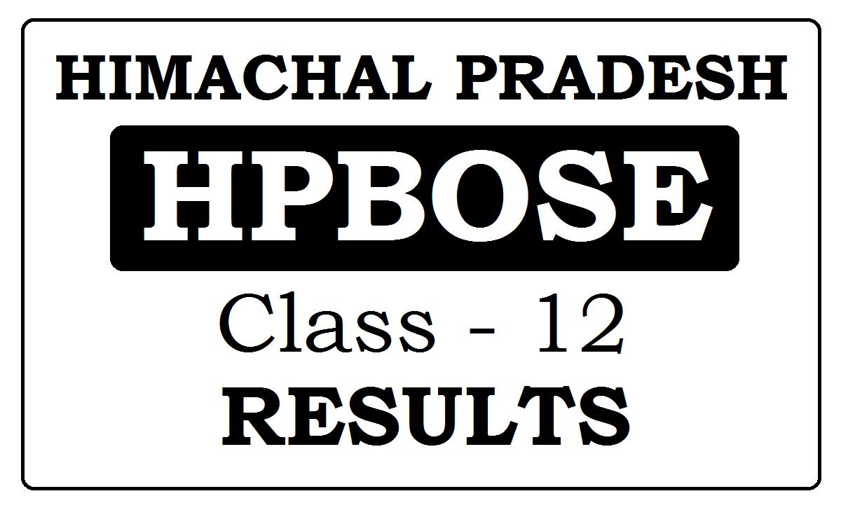 HP Board 12th Results 2021