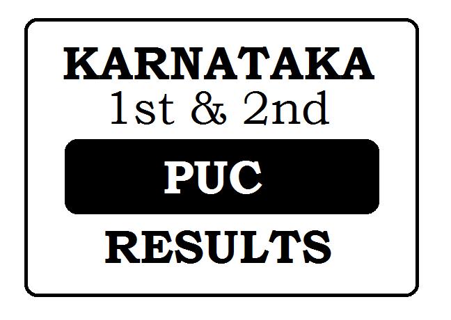 Karnataka PUC Results 2021