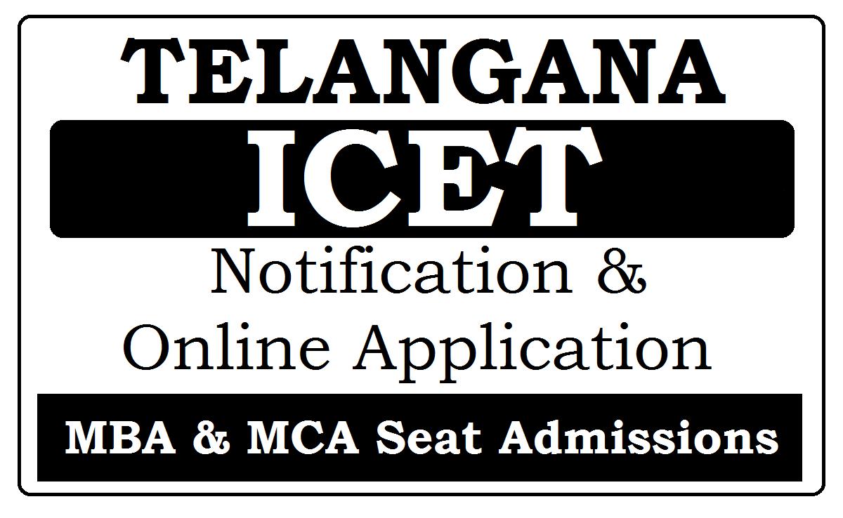 Telangana ICET Notification 2021