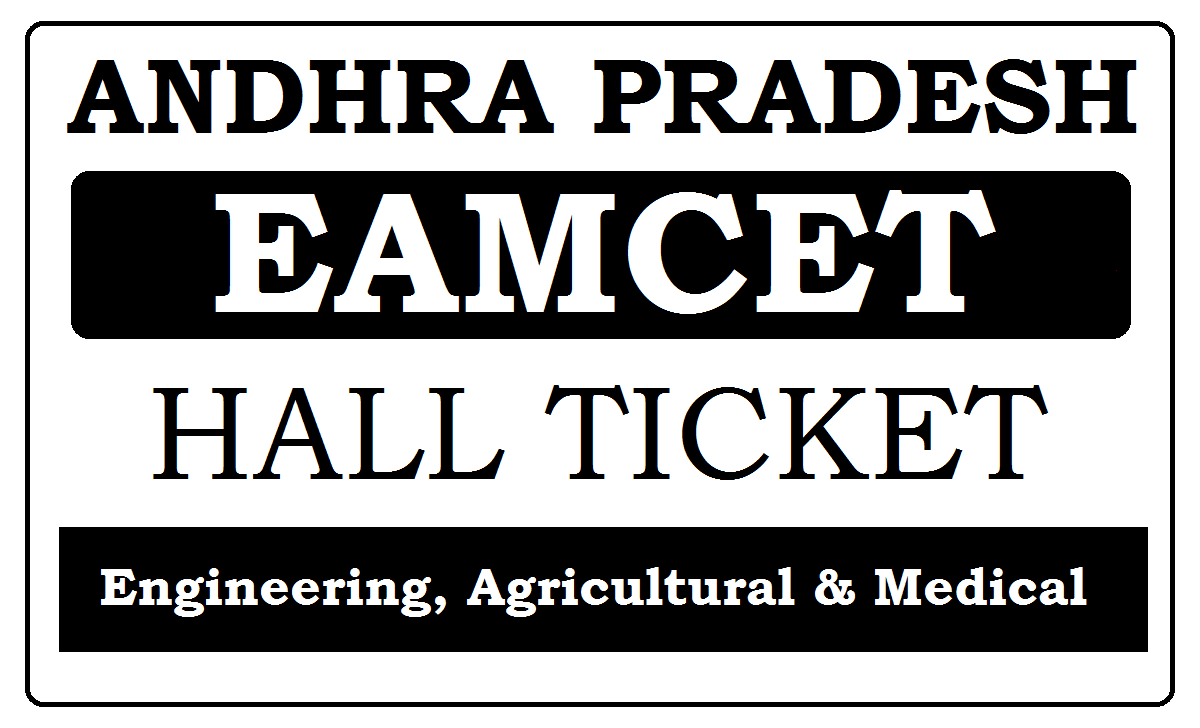 AP EAMCET Hall Ticket 2021