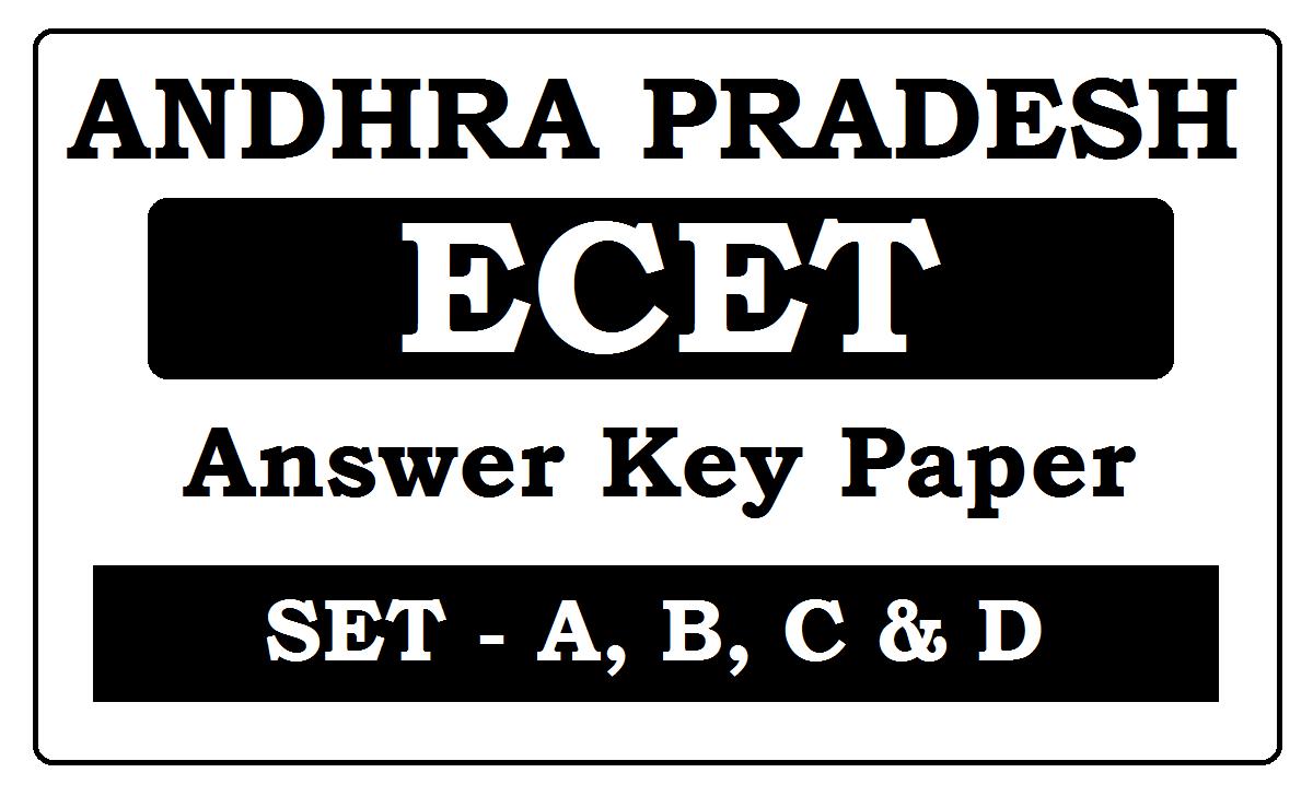 AP ECET Key 2020