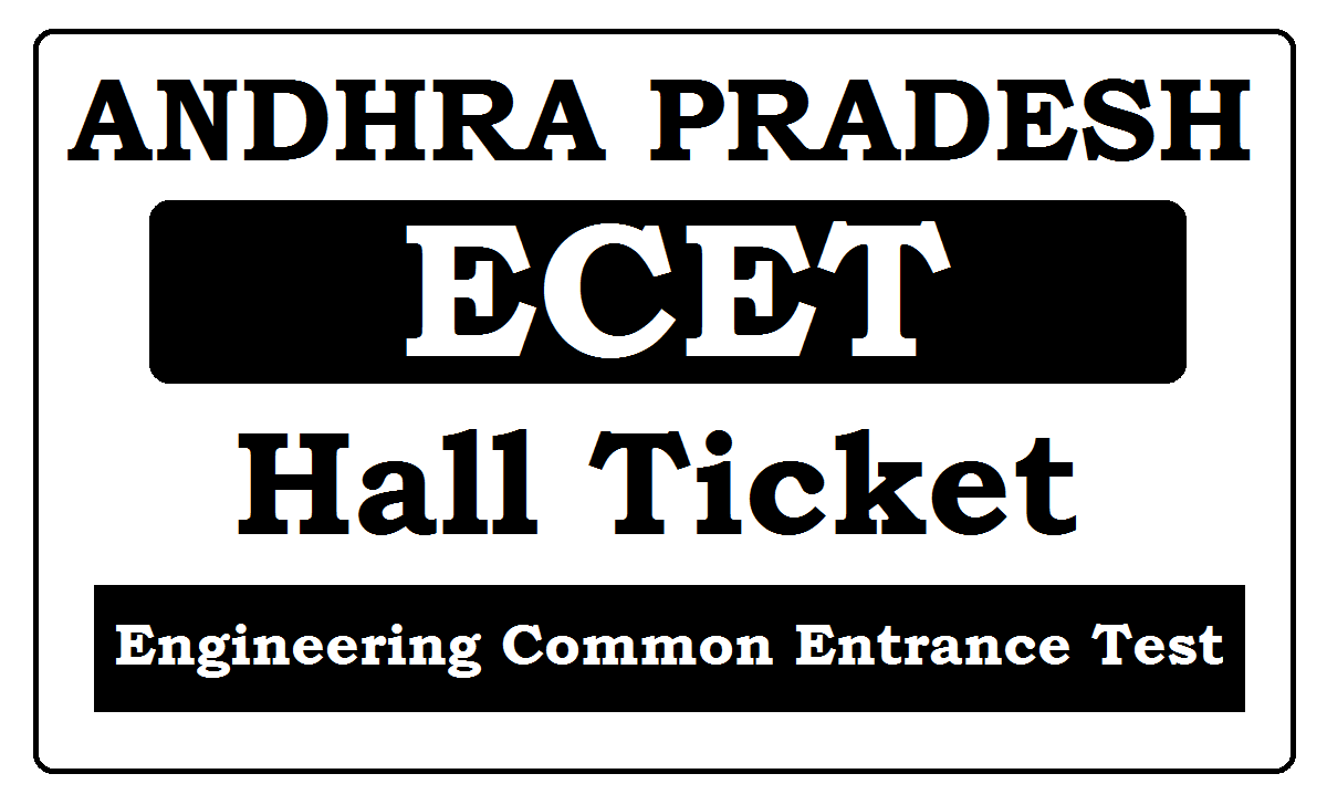 AP ECET Hall Ticket 2020