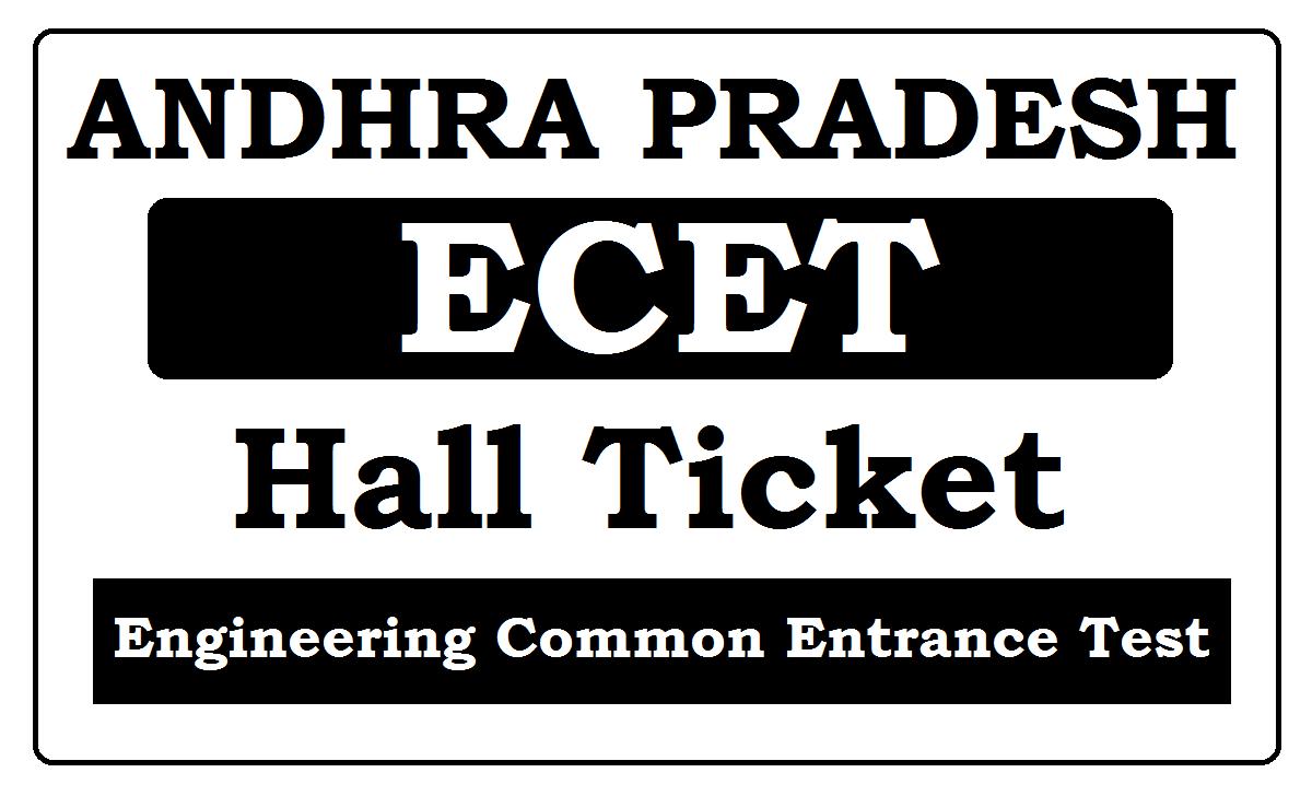 AP ECET Hall Ticket 2021