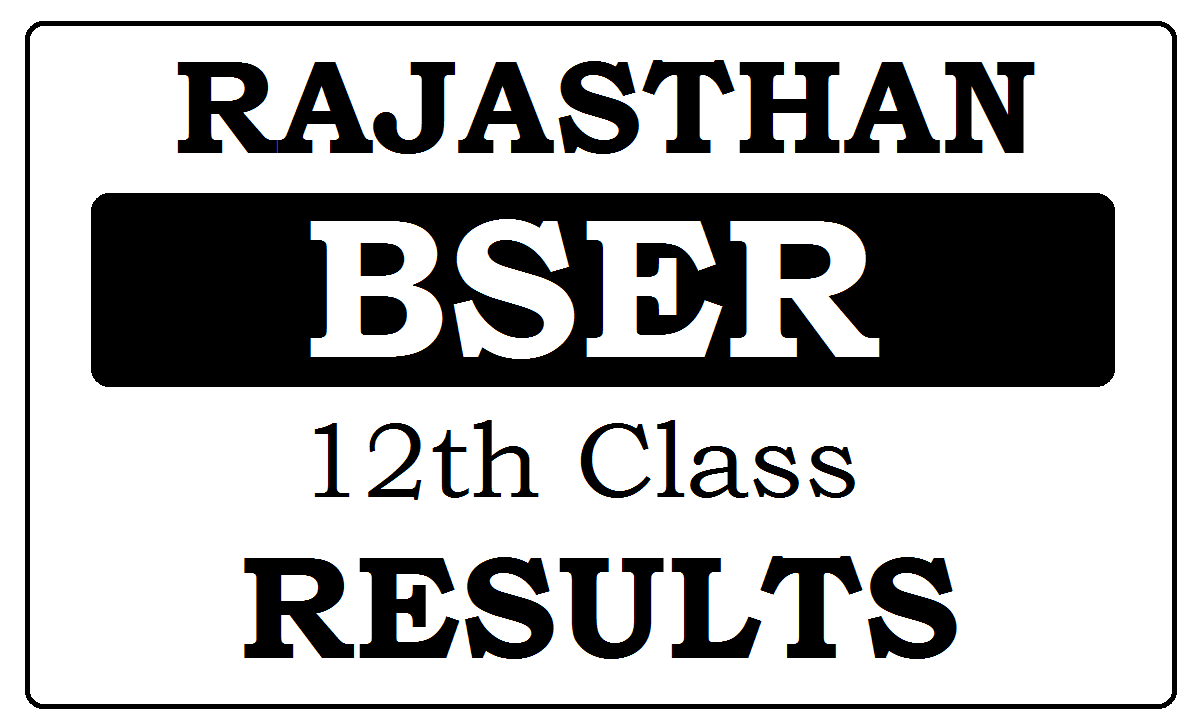 Rajasthan Board 12th Result 2021