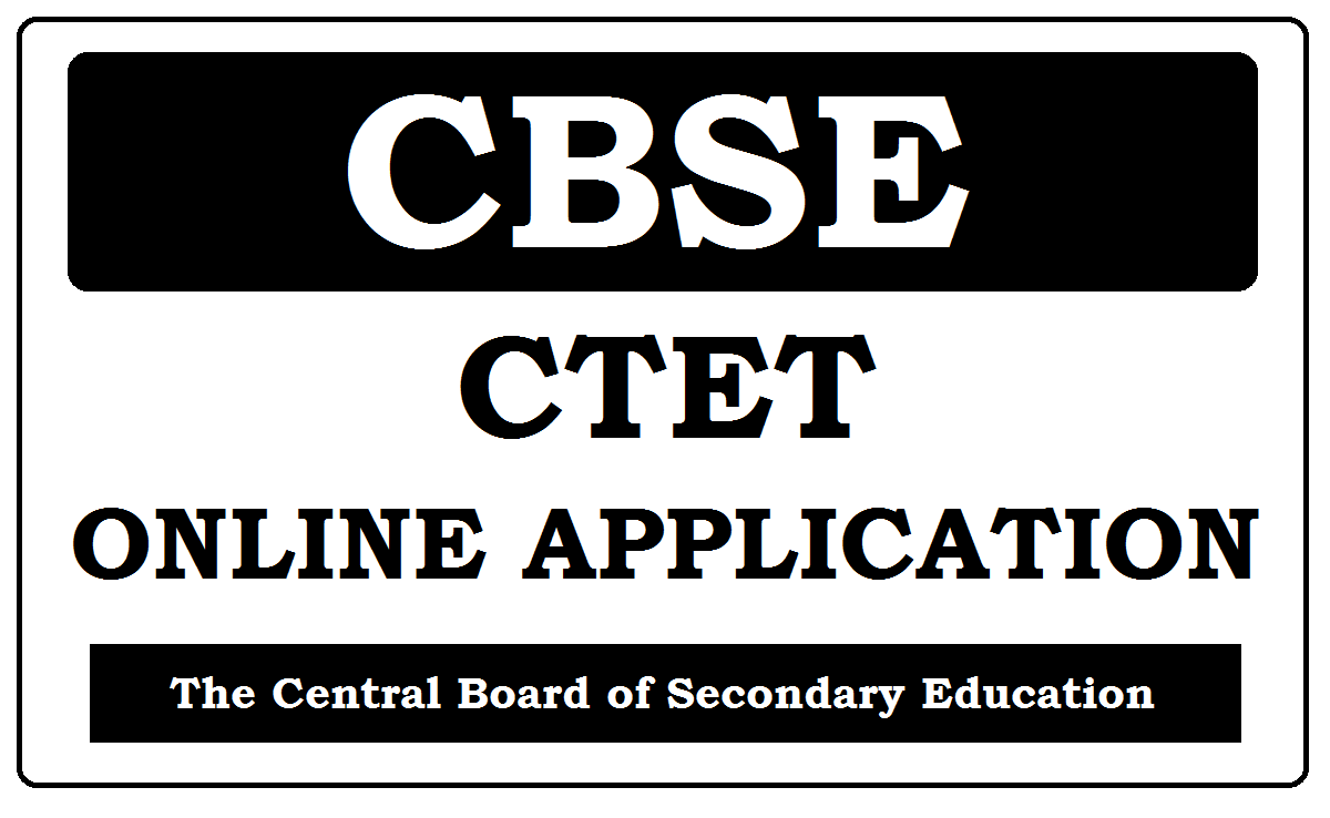 CBSE CTET Online Application 2020
