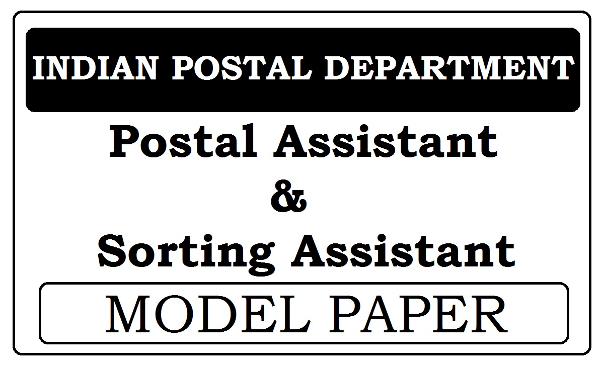 Postal Assistant 2021