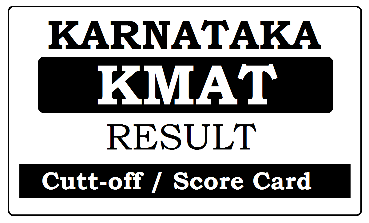 KMAT Results 2021 with Cutt-off / Score Card