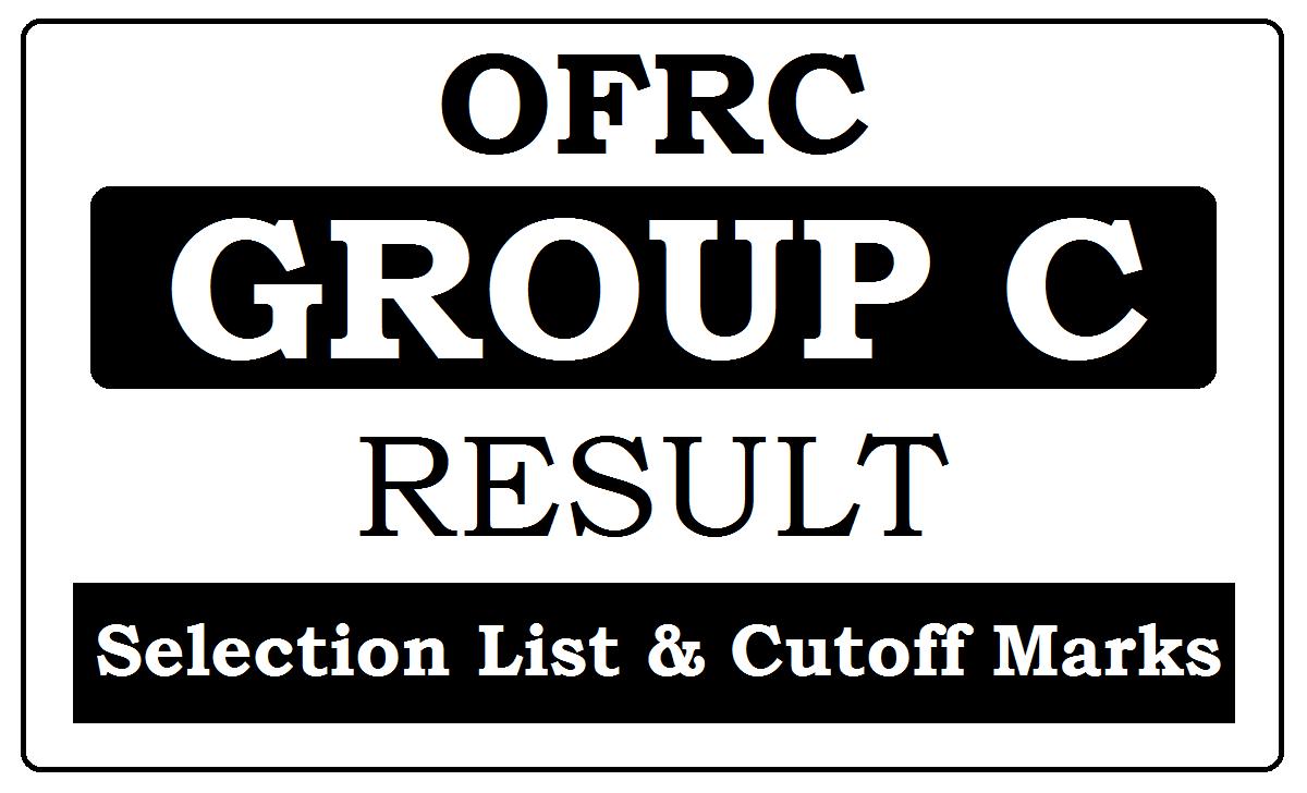 OFRC Group C Result 2021
