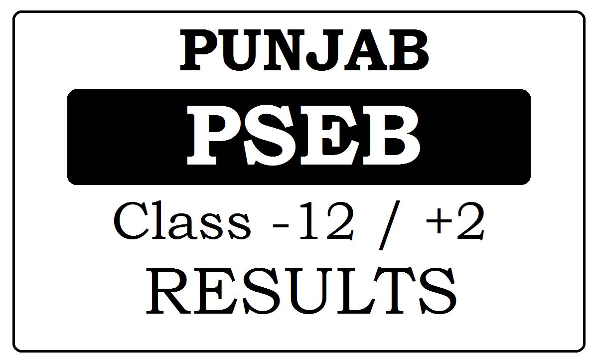 Punjab Board 12th Results 2021