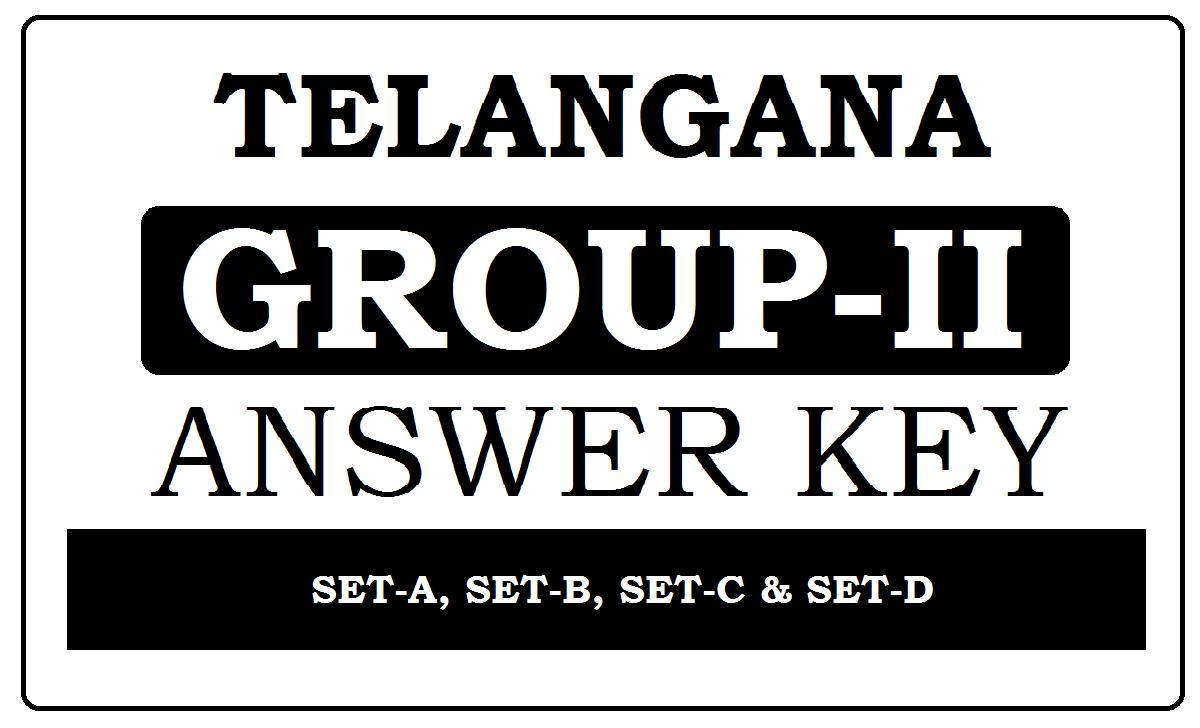 Namasthe Telangana Group-2 Key 2020
