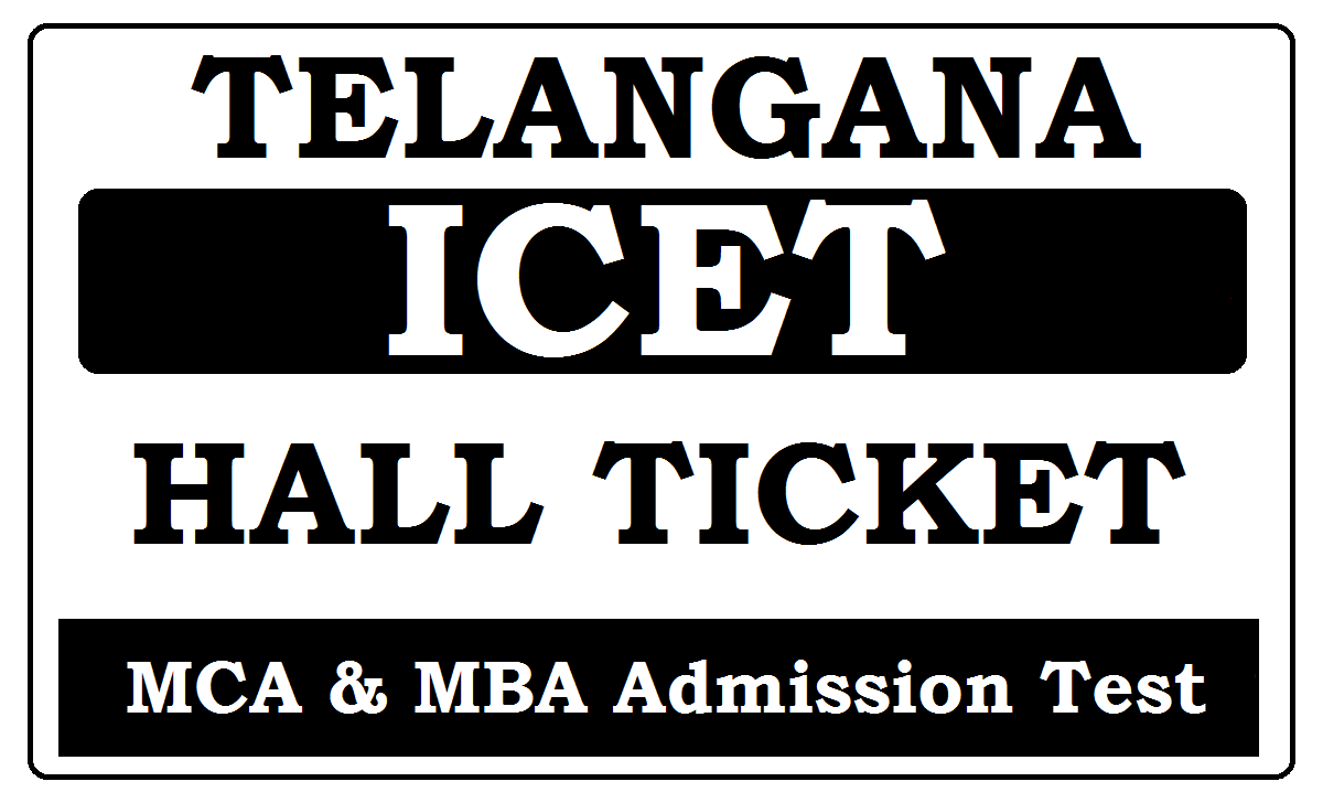 TS ICET Hall Ticket 2021