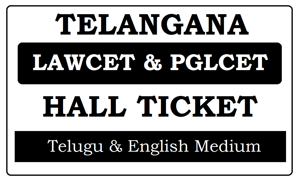 TS LAWCET Hall Ticket 2021