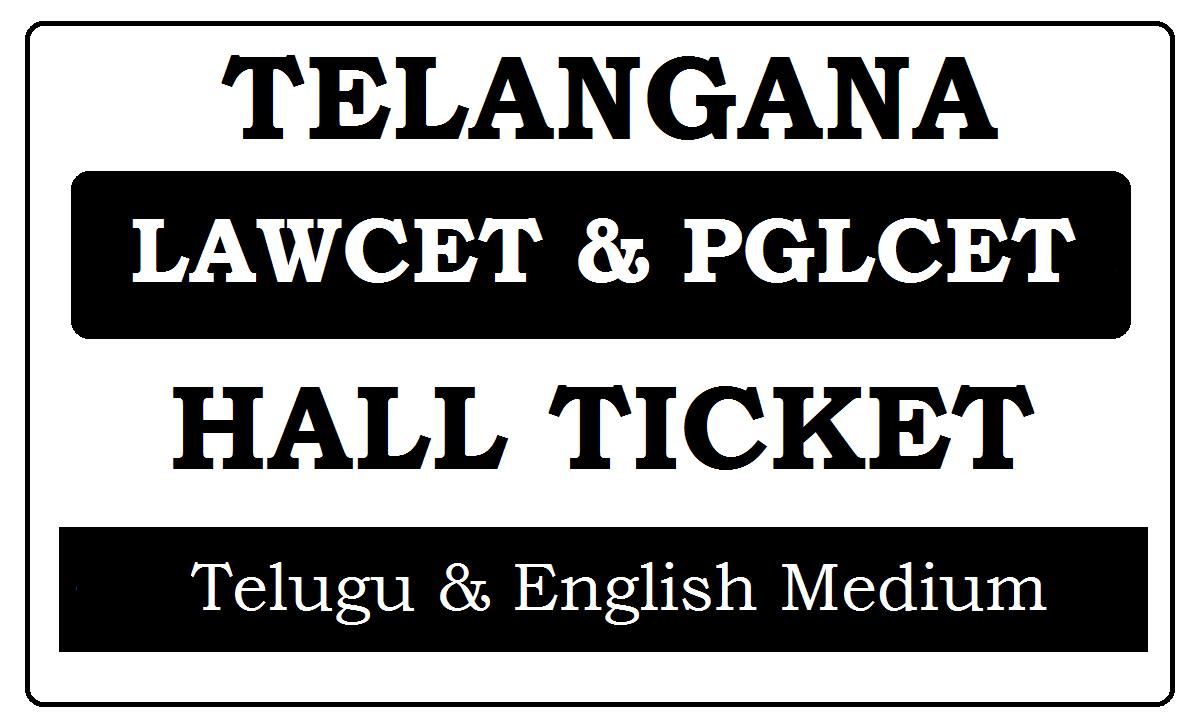 TS LAWCET Hall Ticket 2020