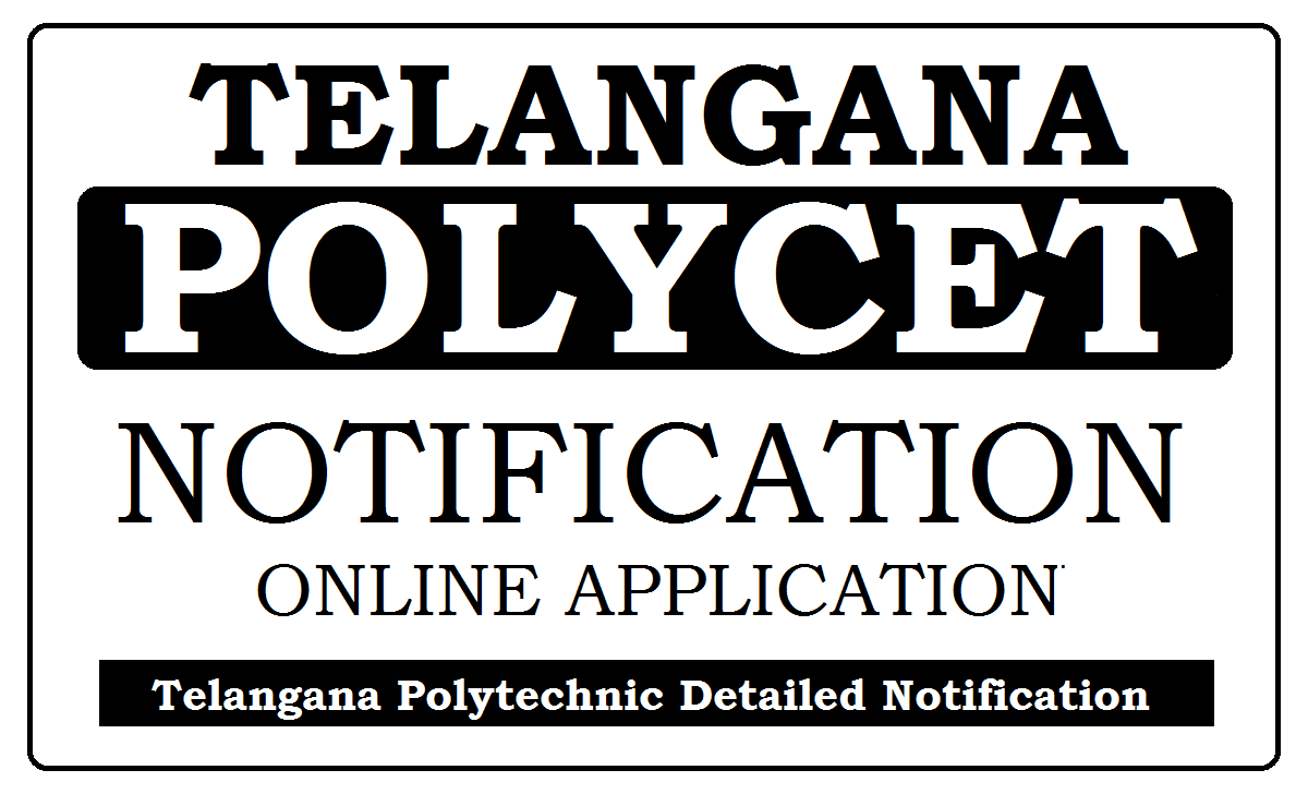 TS POLYCET Notification 2021