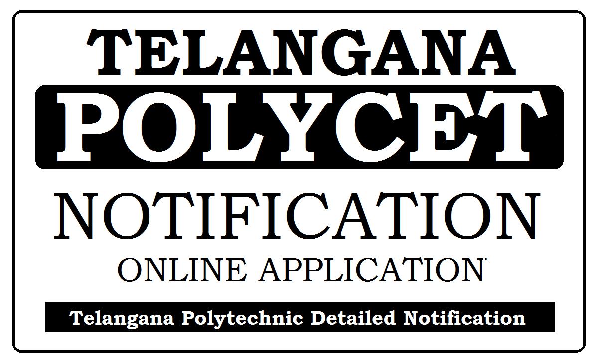 TS POLYCET Notification 2020