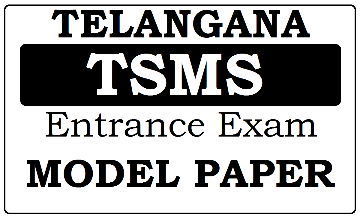 TSMS Model Papers 2021