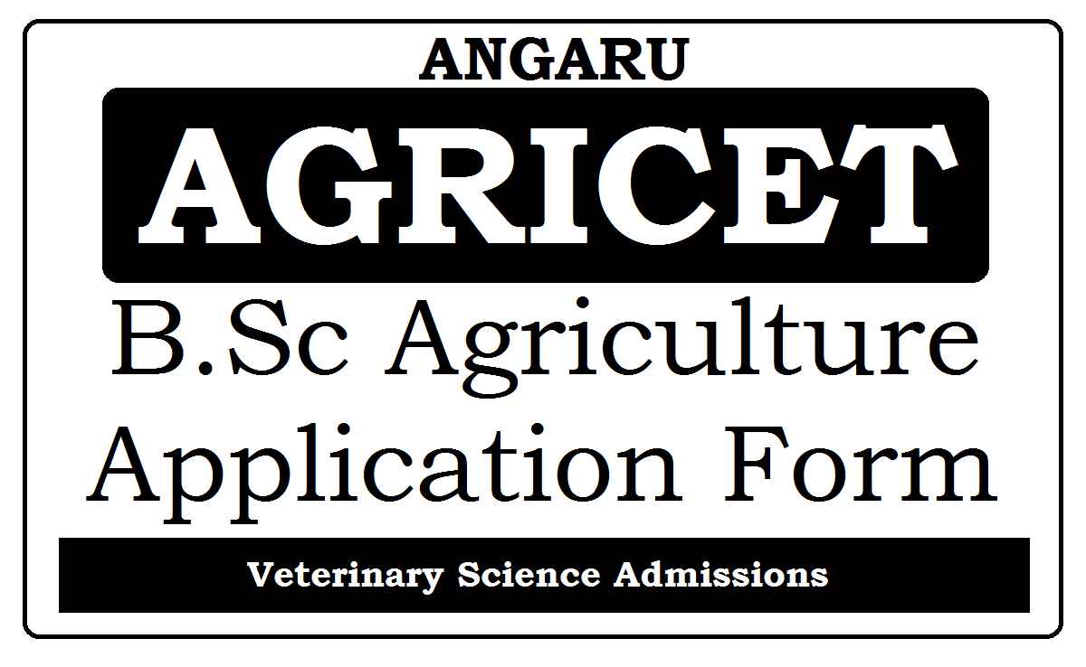 ANGRAU AGRICET Online Application 2021