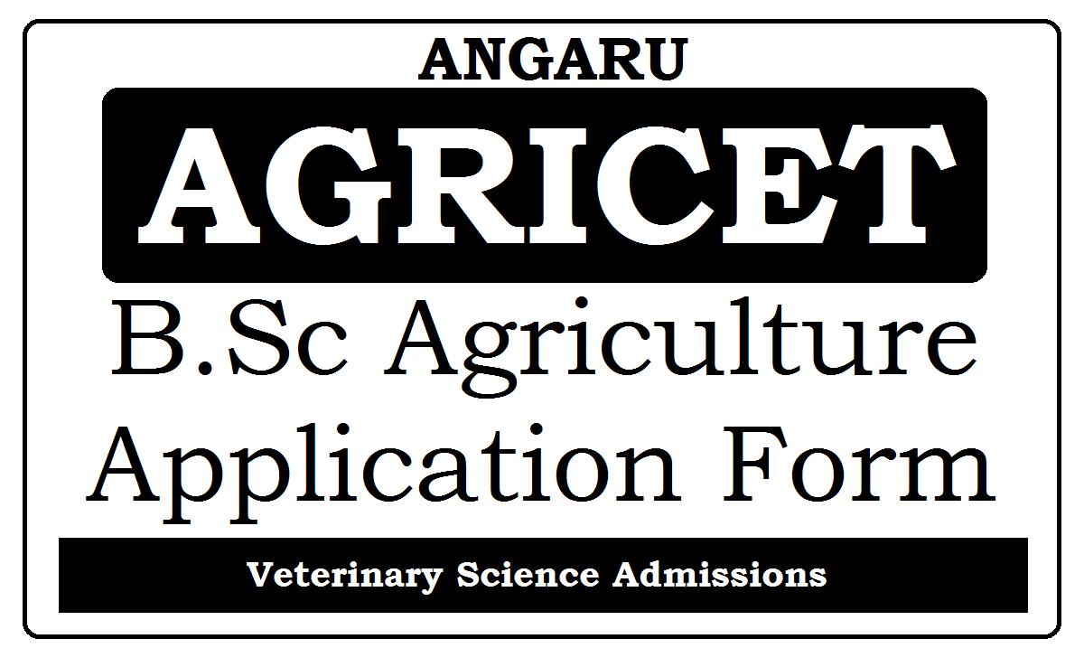 ANGRAU AGRICET Online Application 2021