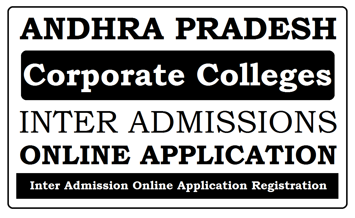 AP Corporate Colleges Online application 2021