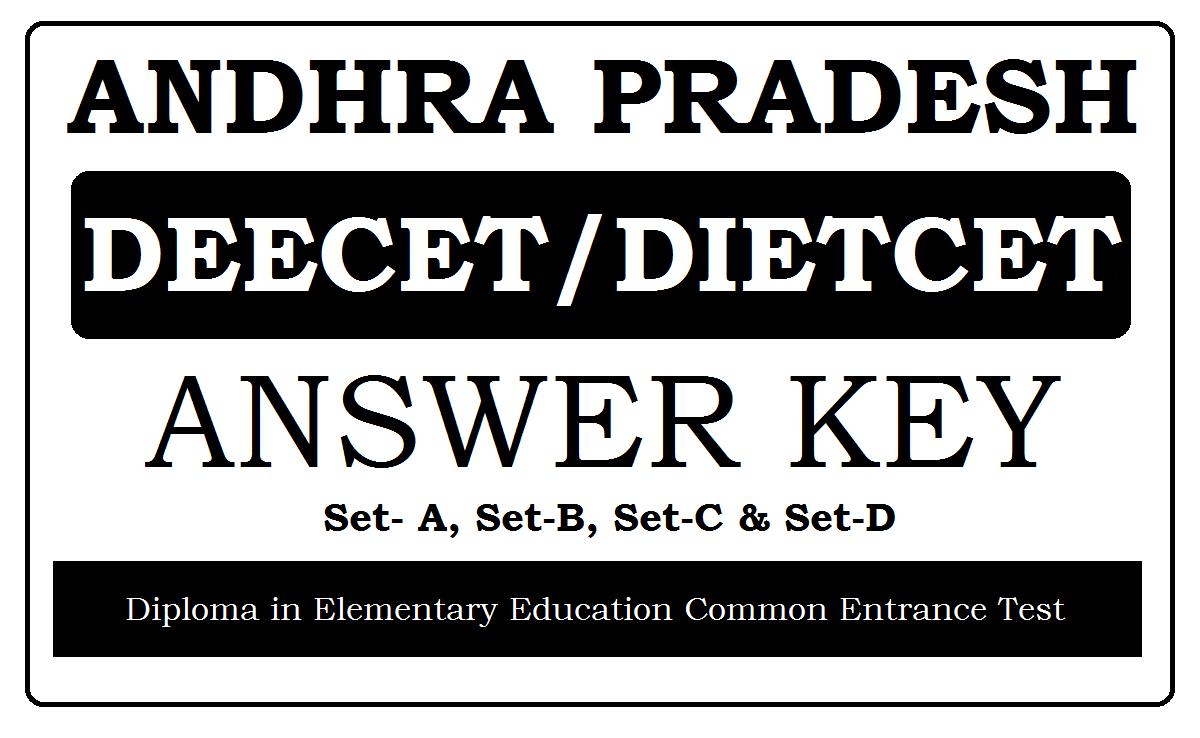 AP DEECET Key 2020