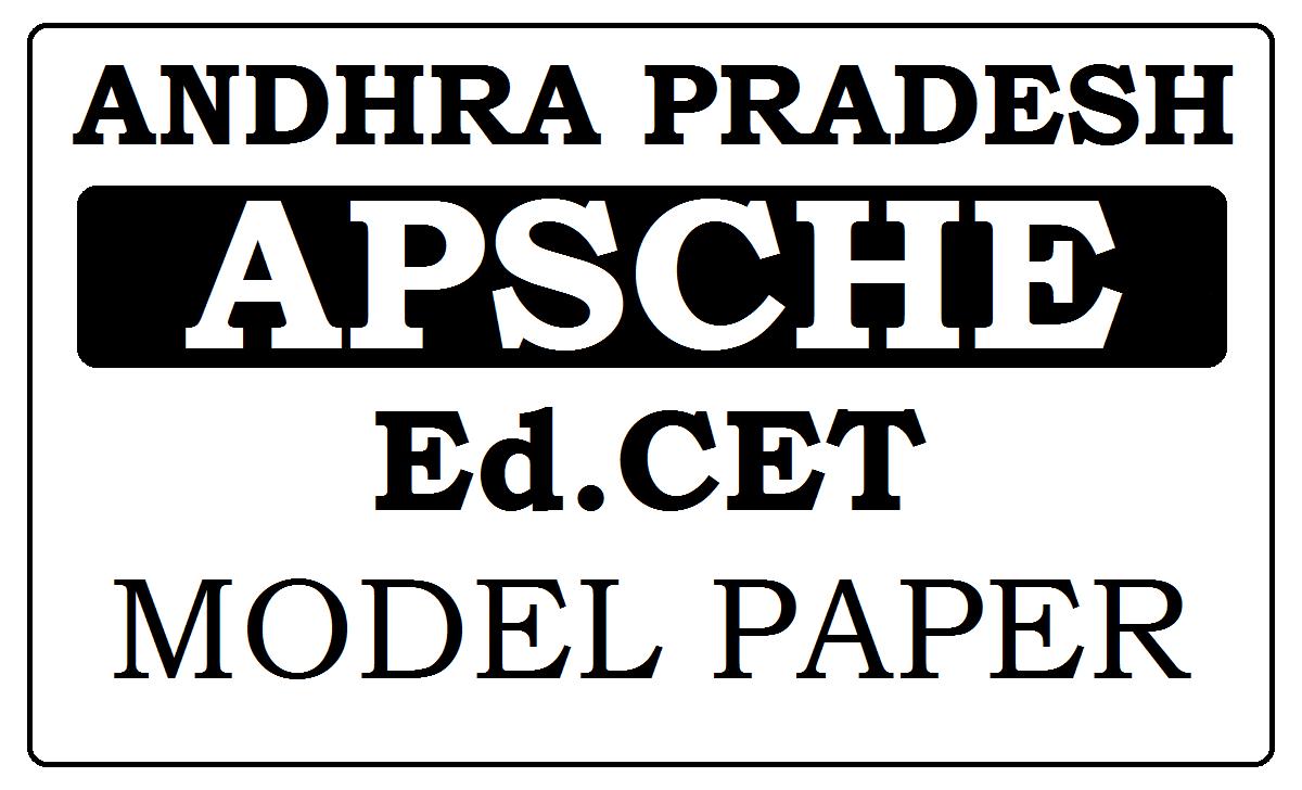 AP EDCET Previous Question Papers 2021