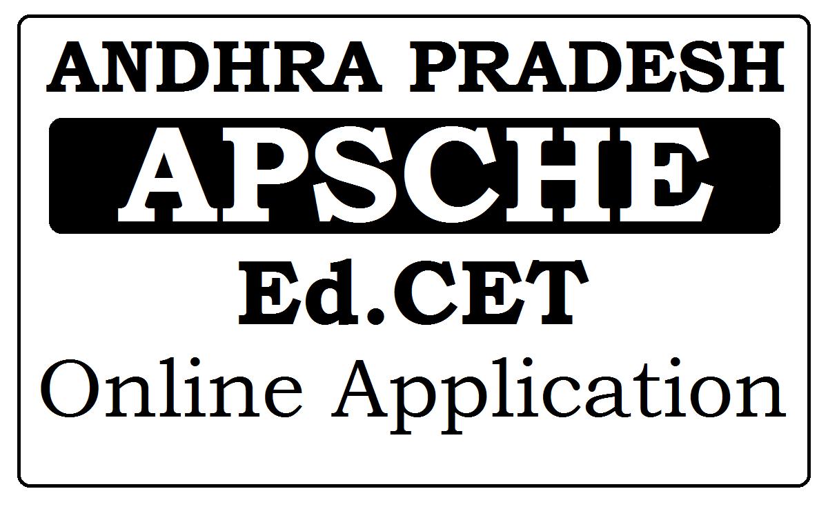 AP Ed.CET Online Application 2021