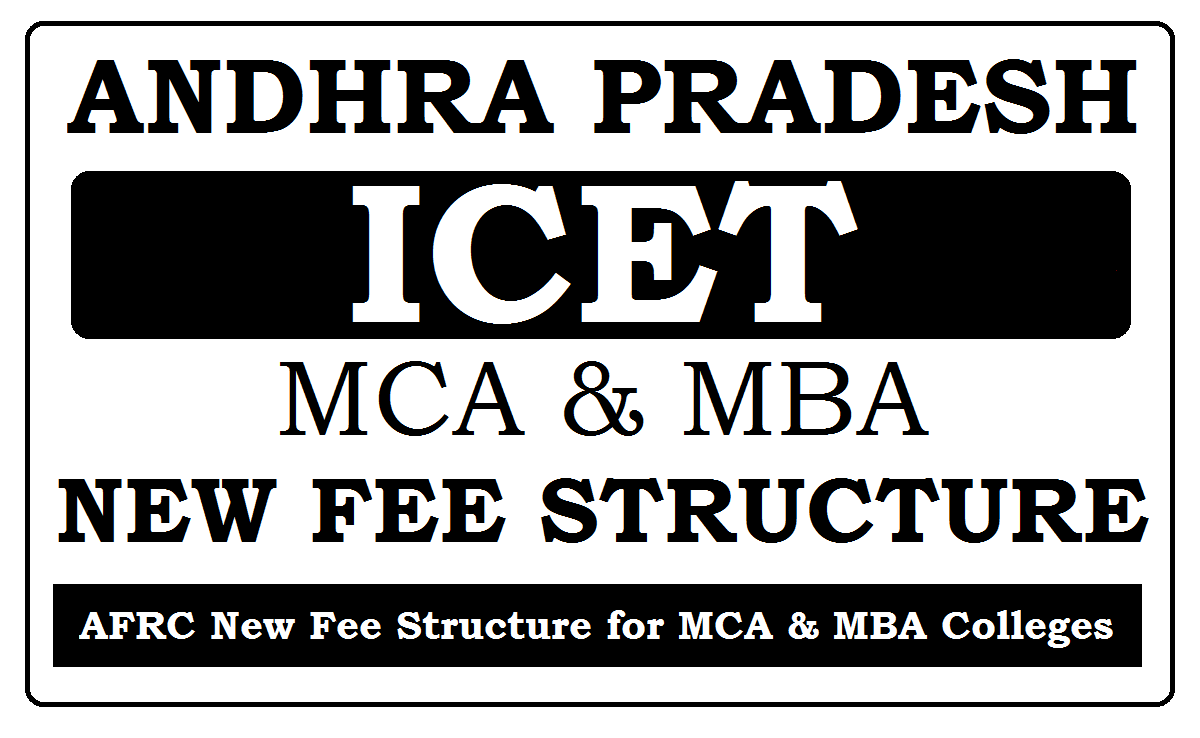 AFRC MCA & MBA New Fee Structure