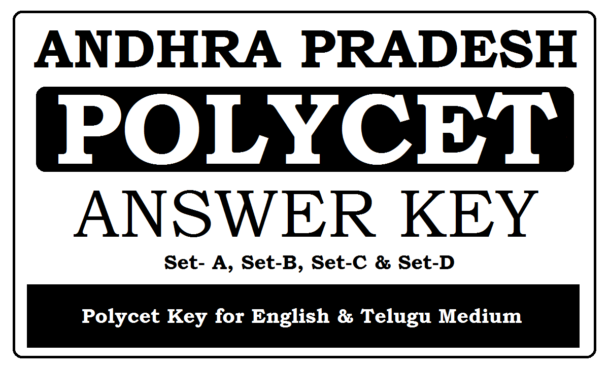 AP Polycet Answer Key 2020