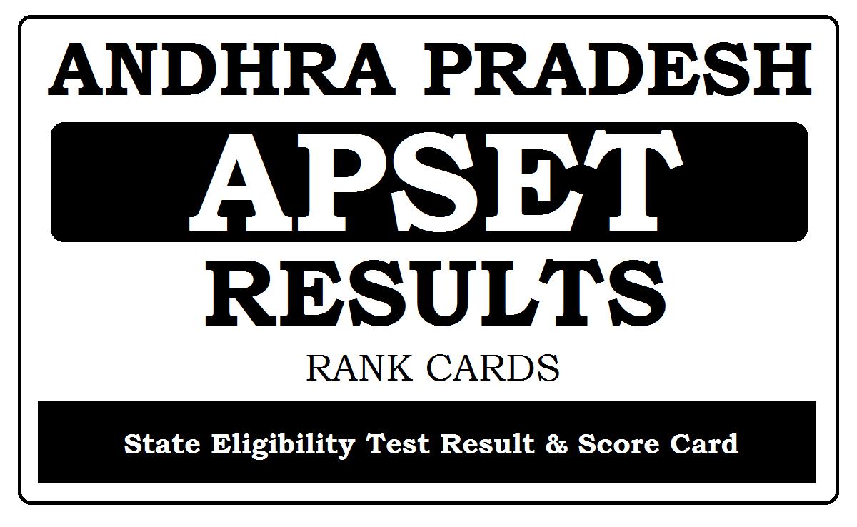 AP SET Results 2020