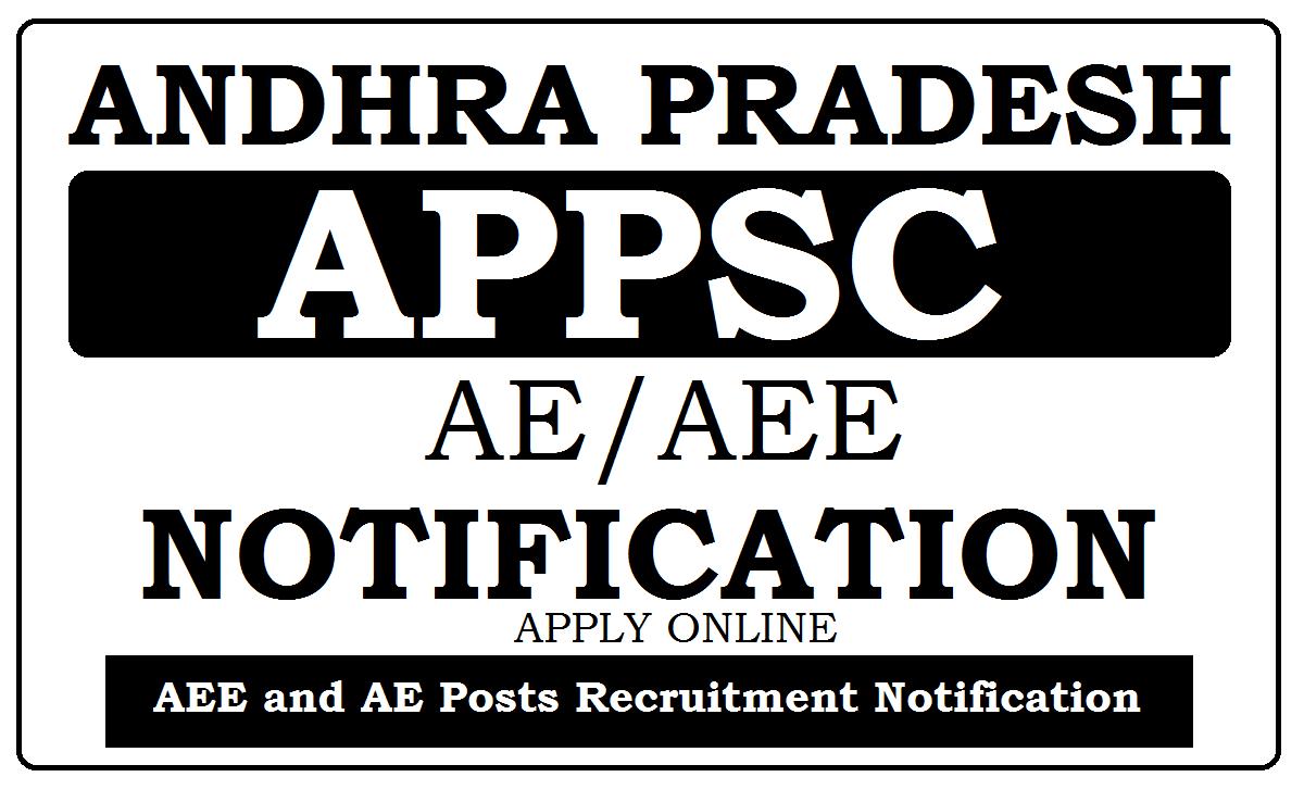 APPSC AE / AEE Recruitment Notification 2021