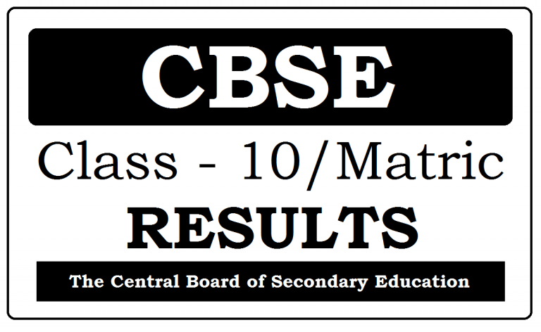 CBSE 10th Result 2021 for all Regional Centers at ...