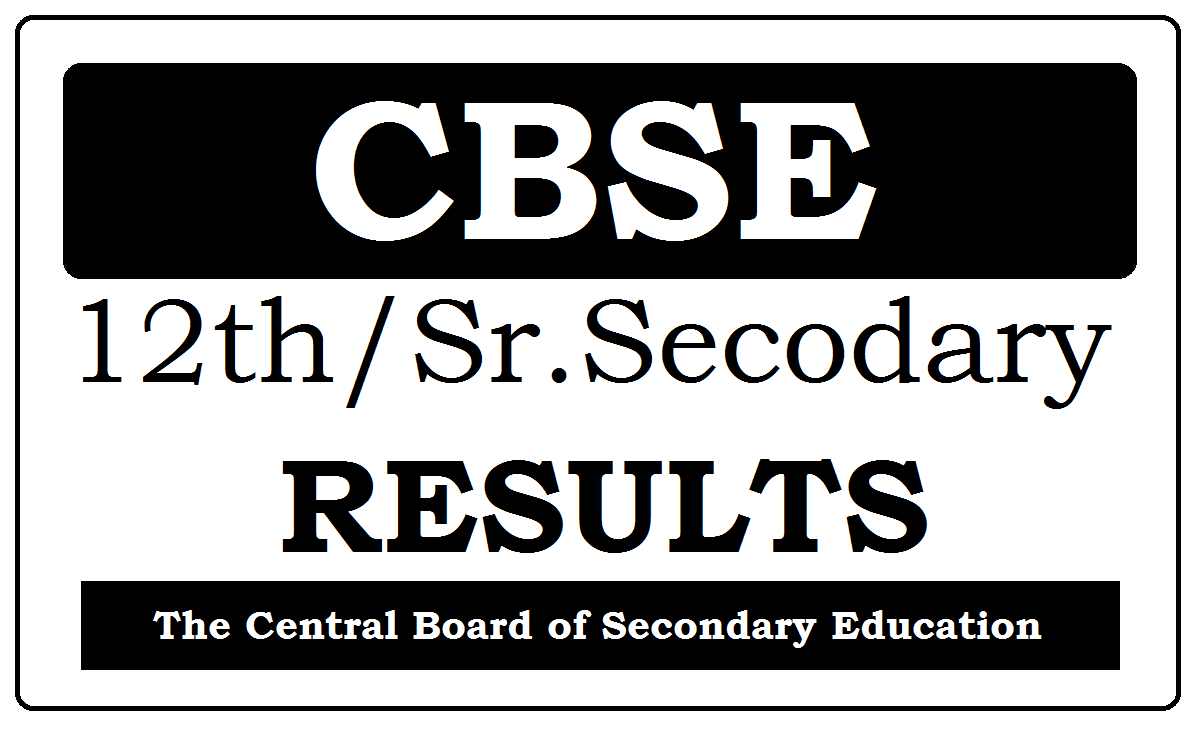 CBSE 12th Results 2021