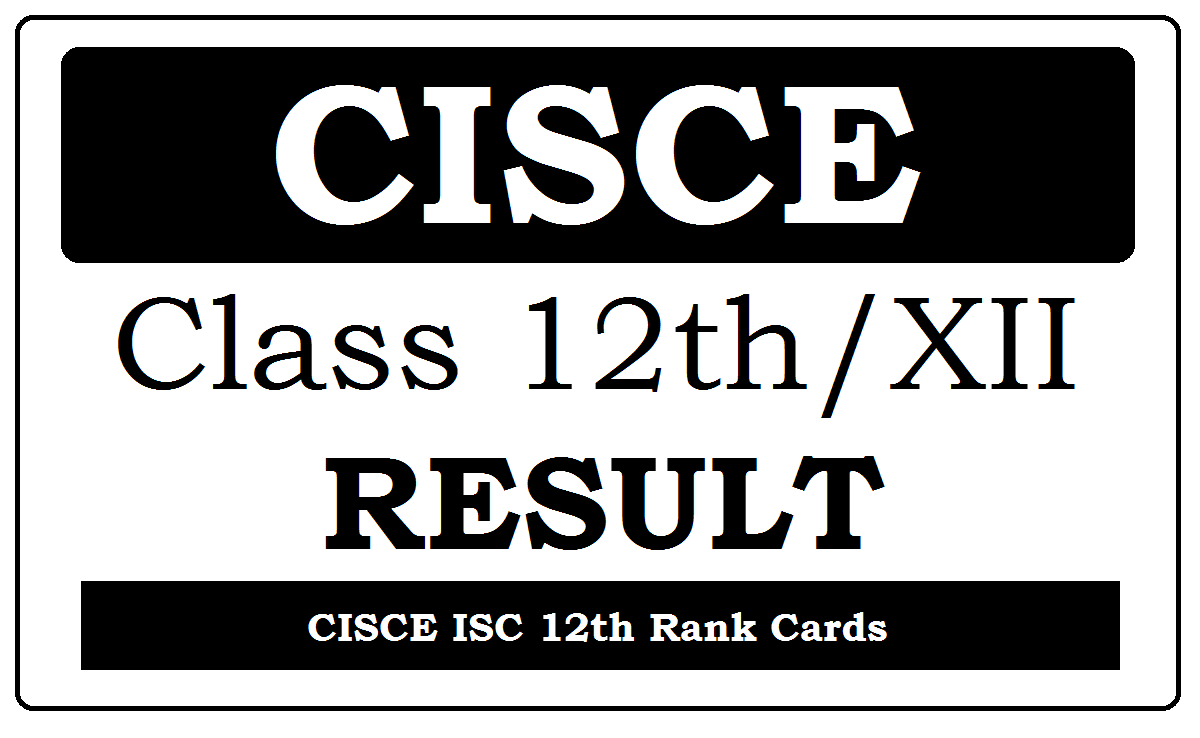 ISC 12th Results 2020