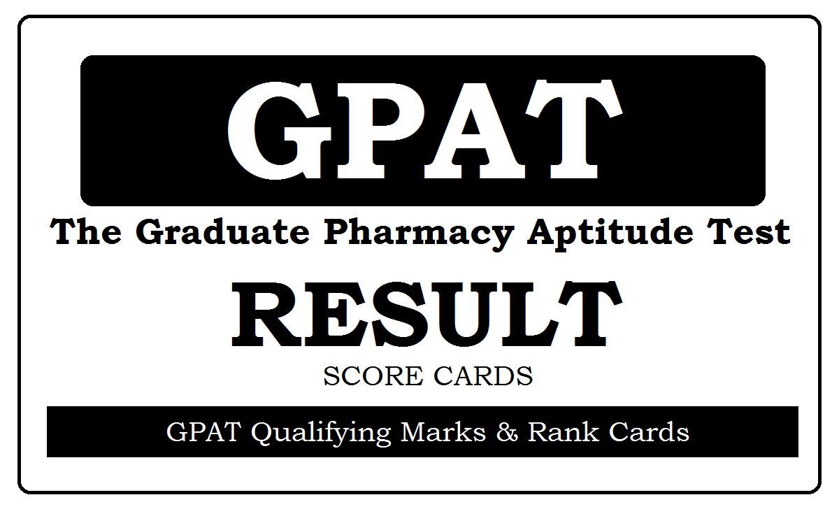 GPAT Results 2021